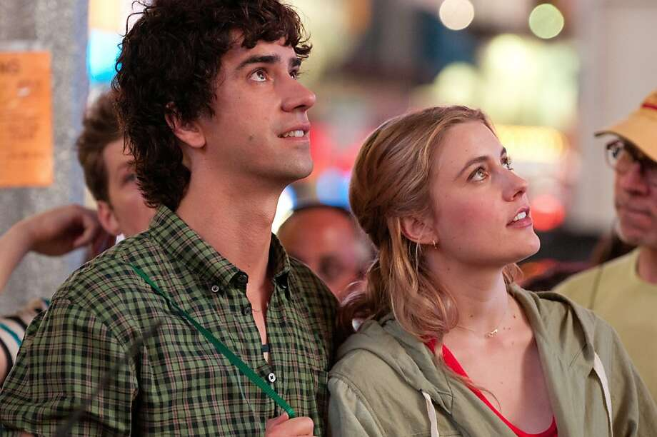 "This undated film image released by Fox Searchlight shows Hamish Linklater, left, and Greta Gerwig in a scene from ""Lola Versus."" (AP Photo/Fox Searchlight, Myles Aronowitz) Photo: Myles Aronowitz, Associated Press"