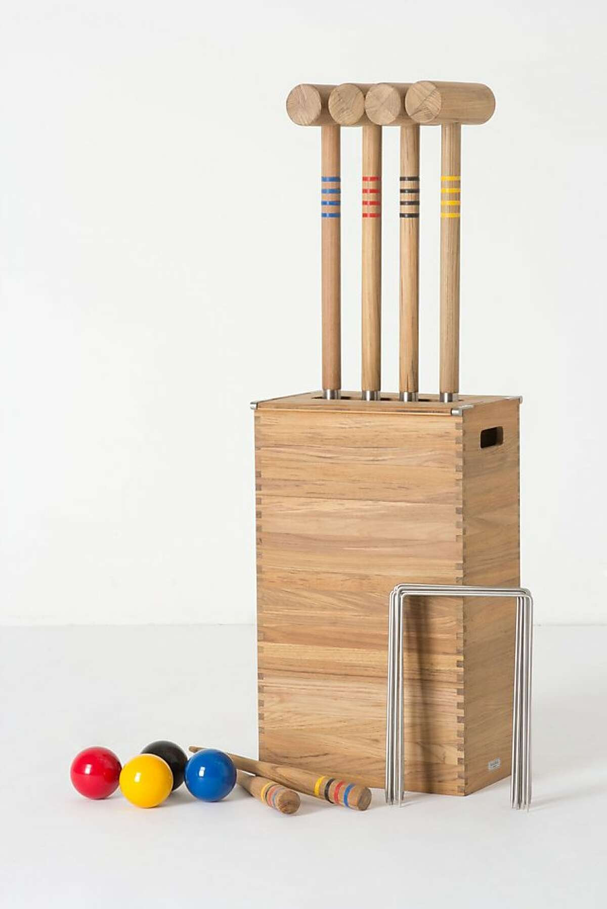 More: $798 Wooden Croquet Set from Anthropologie (anthropologie.com)