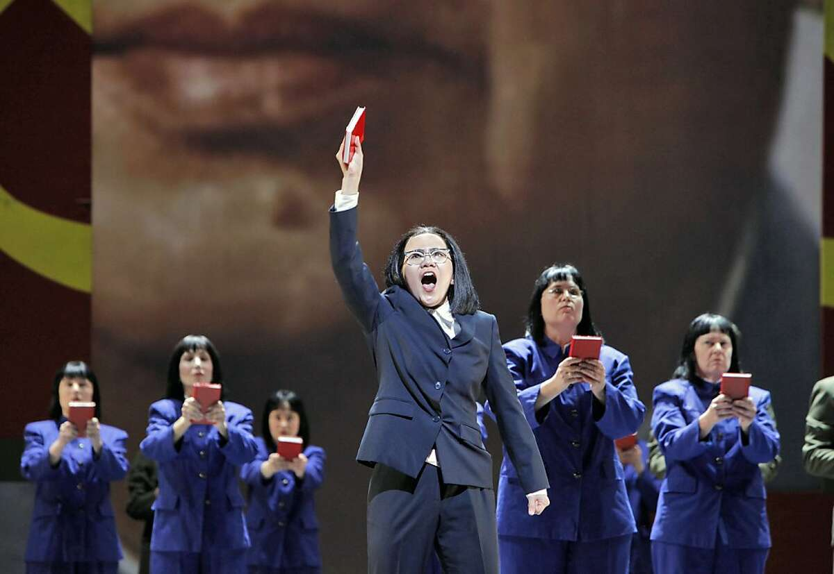 """Hye Jung Lee (Madame Mao) sings ?'I am the Wife of Mao Tse-tung?"""" in, """"Nixon in China,"""" by the San Francisco Opera."""