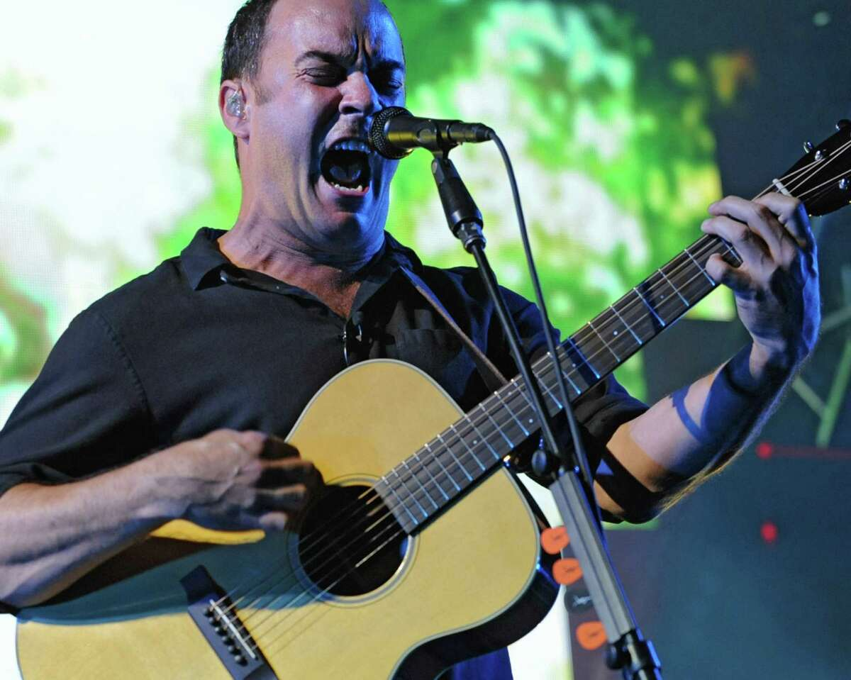 Dave Matthews Band performs during a sold out concert at Saratoga Performing Arts Center June 8, 2012 in Saratoga Springs, N.Y. (Lori Van Buren / Times Union)