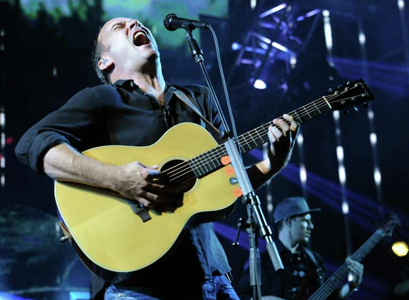 Dave Matthews Band performs during a sold out concert at Saratoga Performing Arts Center June 8, 201