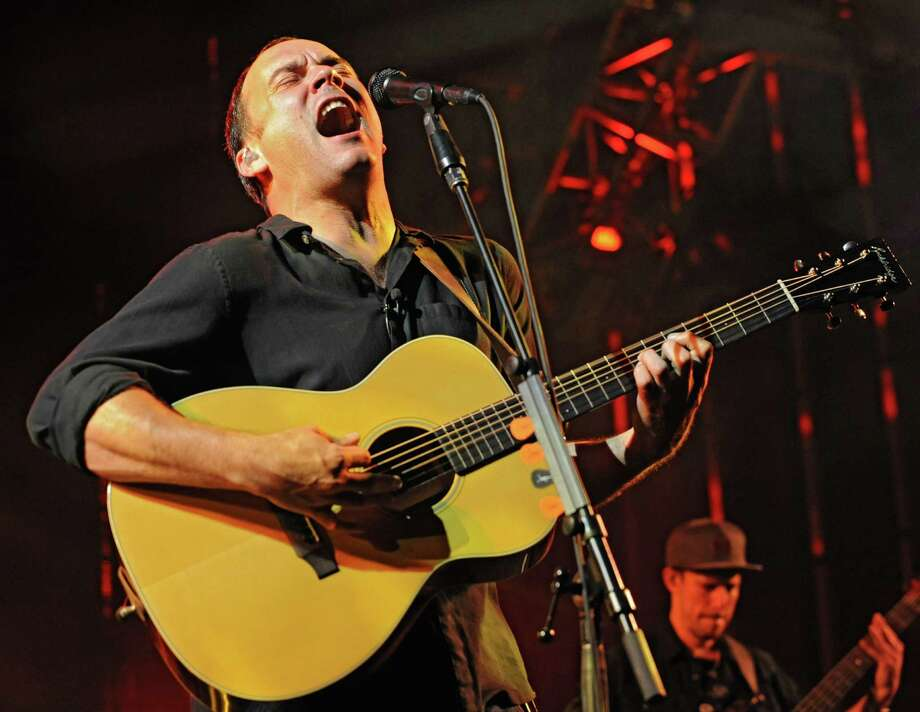 Dave Matthews Band performs during a sold out concert at Saratoga Performing Arts Center June 8, 2012 in Saratoga Springs, N.Y.  (Lori Van Buren / Times Union) Photo: Lori Van Buren