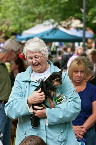 Were you seen at Paws in the park at Siena College in Loudonville on Satur June 9th 2012day