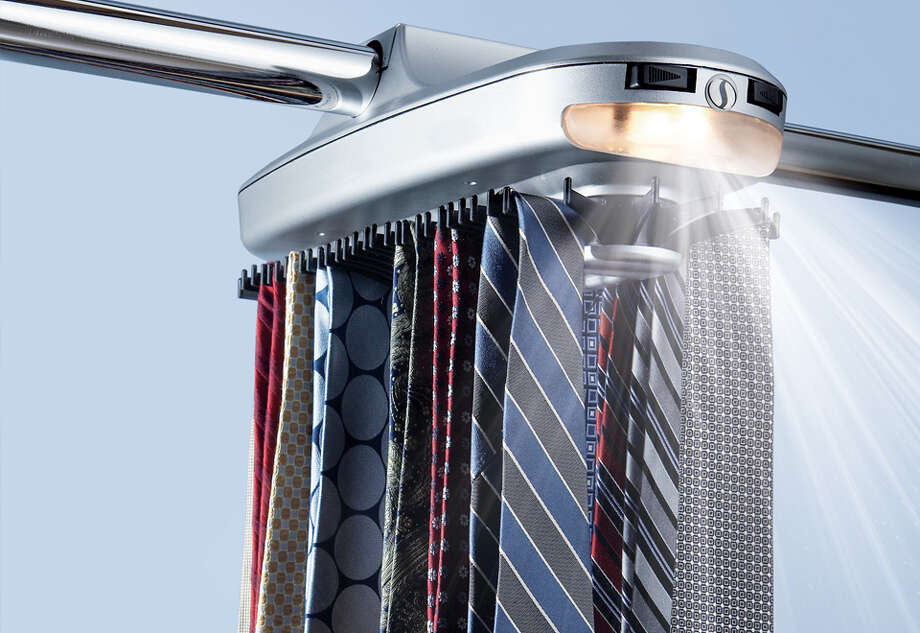 We know, we know, dad wears one almost every day and the colors are so brights and the patterns so bold. But buying a tie is tired and not very creative. Nix the automated tie rack, too. Photo: Contributed Photos