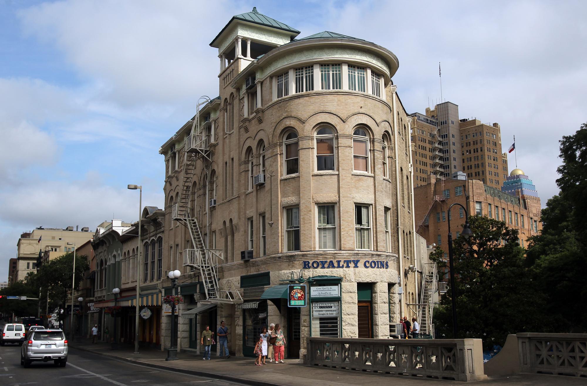 Cityscape Clifford Building San Antonio Express News