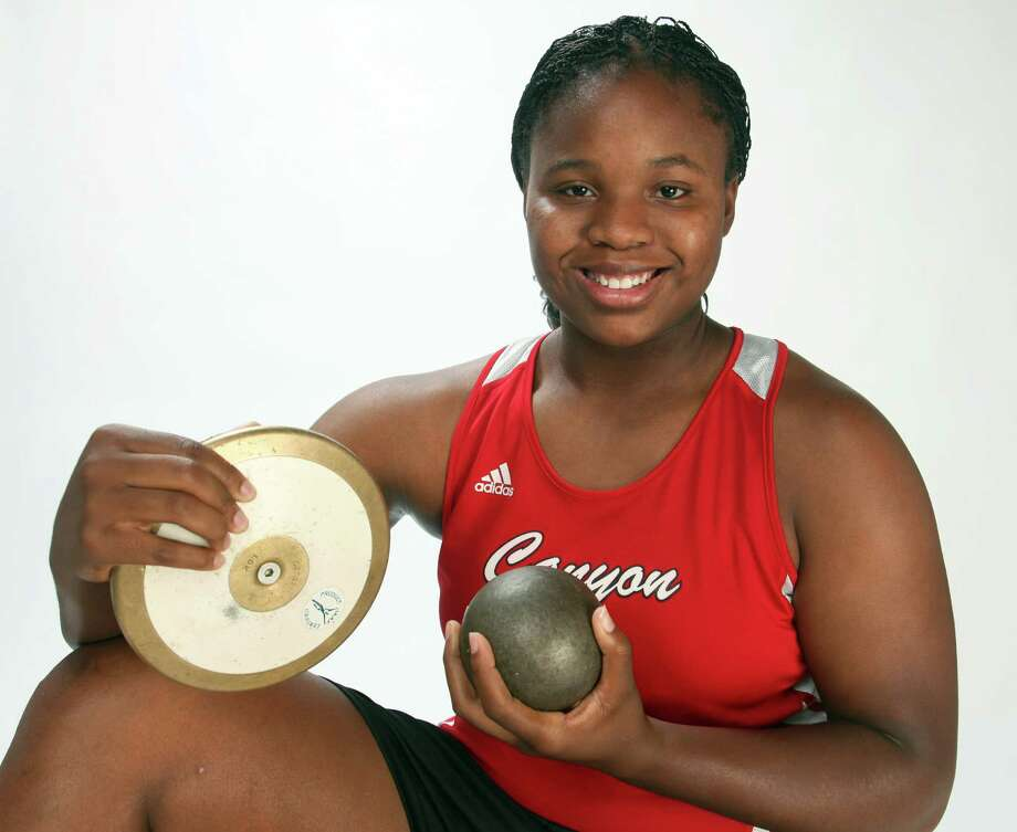 Girls field athlete of the year: Chamaya Turner.  Juanito M. Garza / San Antonio Express-News Photo: JUANITO M GARZA, Express-News / San Antonio Express-News