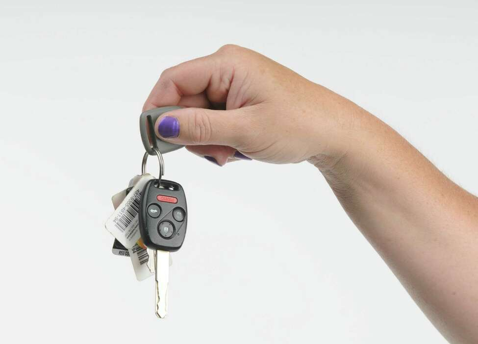 Photo illustration showing a car keys, Thursday June 7, 2012. (Will Waldron / Times Union photo illustration)