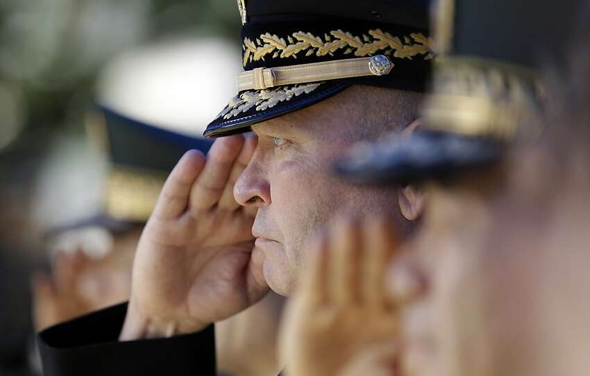 U.S. Gen. James D. Thurman, the commander of U.S. Forces Korea, salutes during a monument dedication ceremony at U.S. military base in Seoul, South Korea, Friday, June 8, 2012. Thurman attends the ceremony to honor the U.S. Forces Korea and Korean Augmentees who were killed in the line of duty while stationed in the Korea following the 1953 Armistice. (AP Photo/Lee Jin-man)