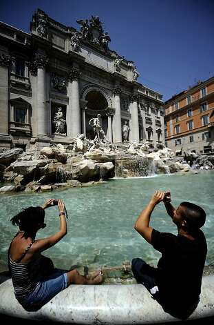Trevi Fountain in Rome Photo: Filippo Monteforte, AFP/Getty Images