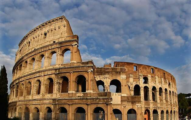 The Colosseum in Rome Photo: Julian Finney, Getty Images