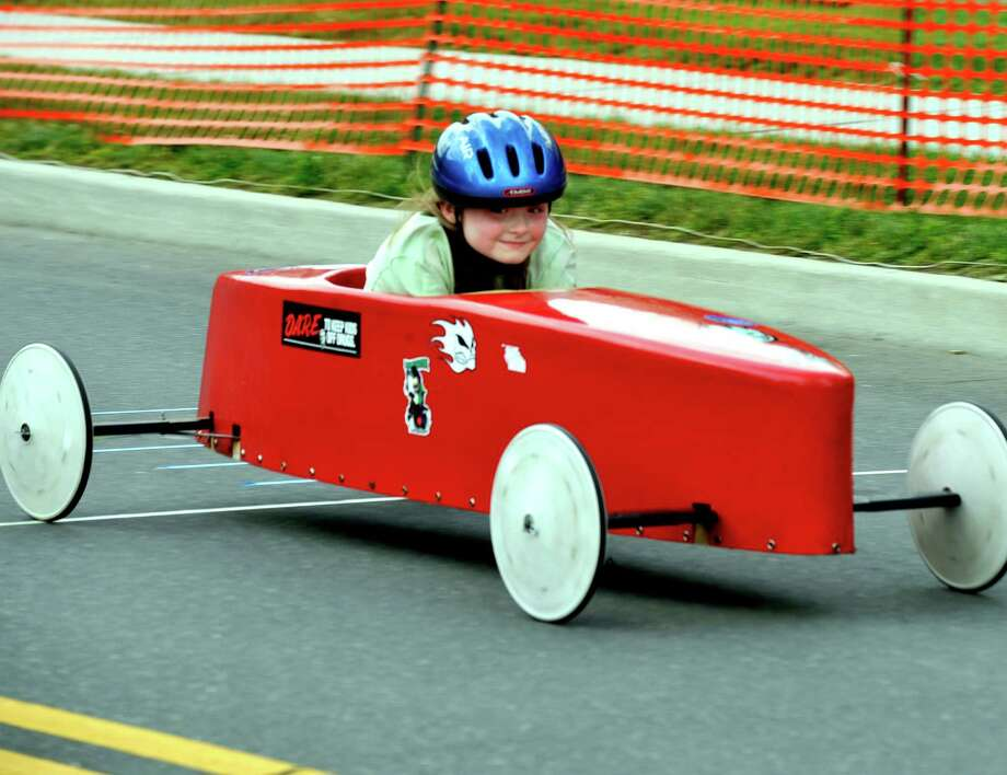 The Danbury Soap Box Derby is held Sunday, June 10, 2012. Photo: Michael Duffy