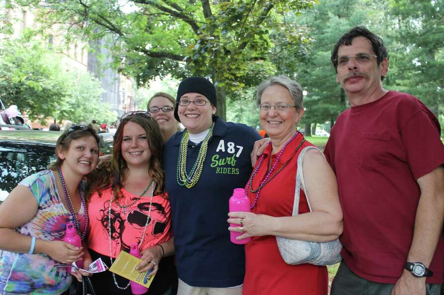 Were you Seen at the Capital Pride Parade in Albany's Washington Park, held in support of the lesbia