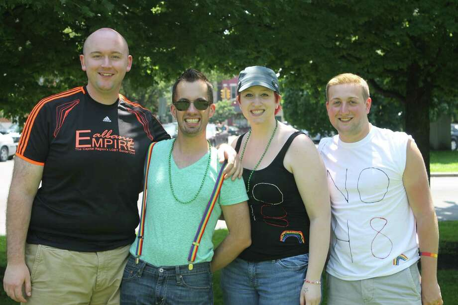 Were you Seen at the Capital Pride Parade in Albany's Washington Park, held in support of the lesbian, bisexual, gay and transgender community, on Sunday, June 10, 2012? Photo: Photographer Name Abby Swint