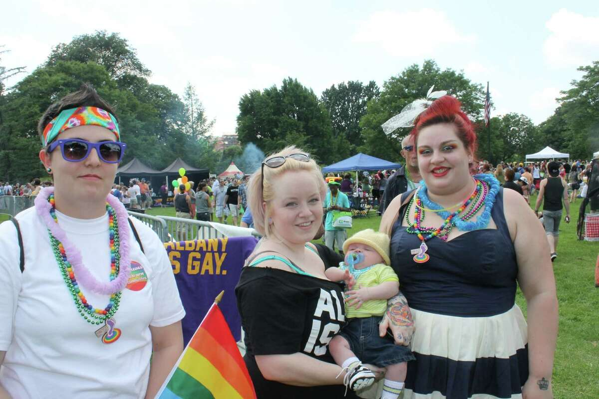Were you Seen at the Capital Pride Parade in Albany's Washington Park, held in support of the lesbian, bisexual, gay and transgender community, on Sunday, June 10, 2012?
