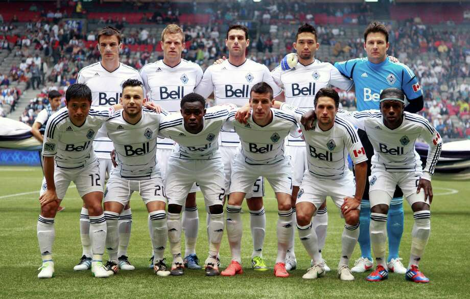 VANCOUVER, CANADA - JUNE 10:  The starting 11 for the Vancouver Whitecaps FC against he Houston Dynamo during their MLS game June 10, 2012 in Vancouver, British Columbia, Canada. Photo: Jeff Vinnick, Getty Images / 2012 Getty Images