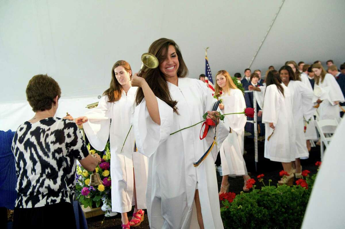 King Class of 2012 commencement exercises on in Stamford, Conn., June 10, 2012.