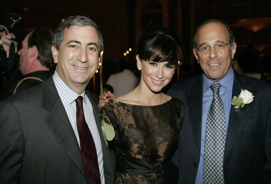 LOS ANGELES - FEBRUARY 16:  (L-R) TSA board member Ken Moelis, actress Jennifer Love Hewitt and TSA board member Jeffrey Kramer attend the Tourette Syndrome Association Champion Of Children's Award at the Regent Beverly Wilshire Hotel on February 16, 2006 in Los Angeles, California. (Photo by Michael Buckner/Getty Images) Photo: Michael Buckner / 2006 Getty Images