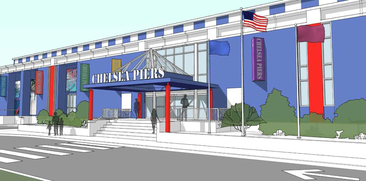 A rendering of Chelsea Piers in Stamford, which is slated to open this summer.