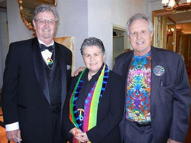 Walden House founder Walter Littrell (left) with CEO Vitka Eisen and Haight Ashbury Clinic founder Dr. David Smith. June 2012. By Catherine Bigelow. Photo: Catherine Bigelow, Special To The Chronicle
