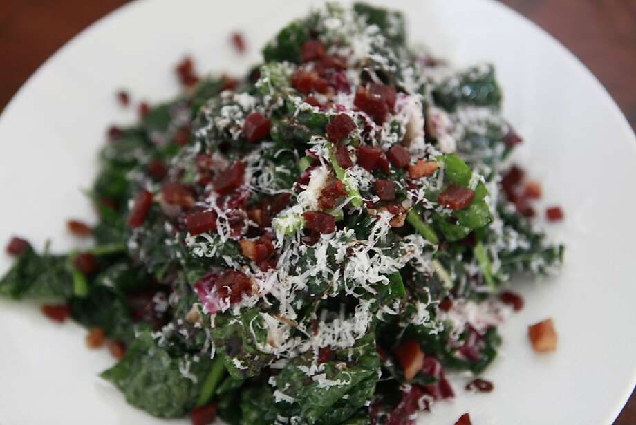 Kale salad served at Darwin Cafe on Friday, June 8th, 2012 in San Francisco, Calif. Photo: Jill Schneider, The Chronicle