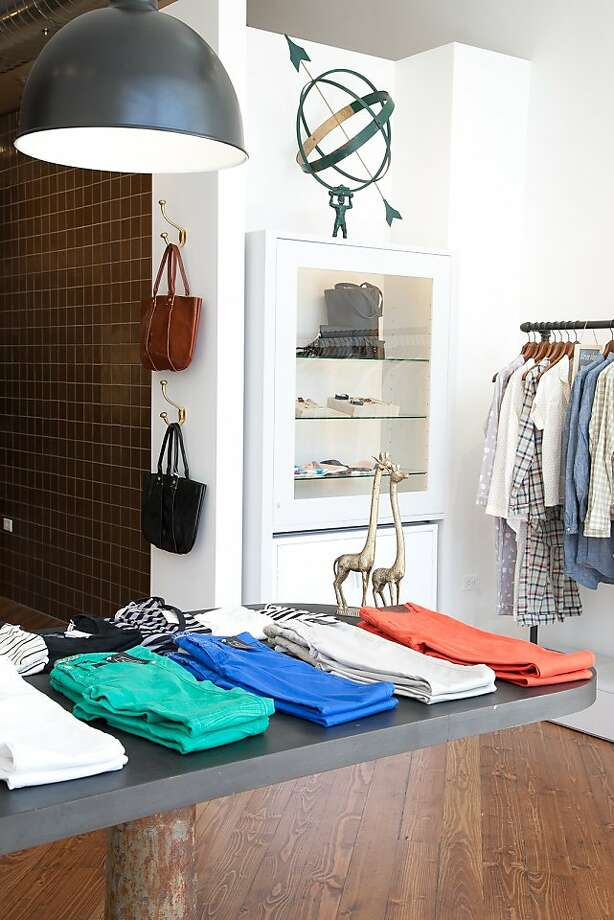 Steven Alan is a retailer of menswear and womenswear that has opened a second S.F. location at 1919 Fillmore St. Photo: Steven Alan
