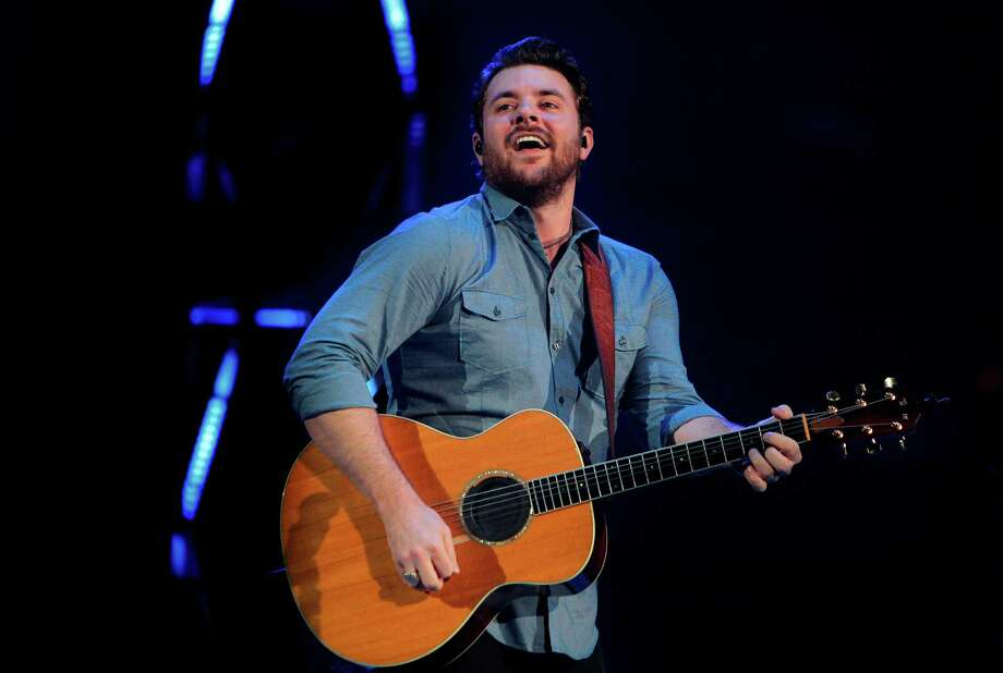 Chris Young performs during the Houston Livestock Show and Rodeo at Reliant Stadium on Saturday, March 10, 2012, in Houston. ( Mayra Beltran / Houston Chronicle ) Photo: Mayra Beltran / © 2012 Houston Chronicle