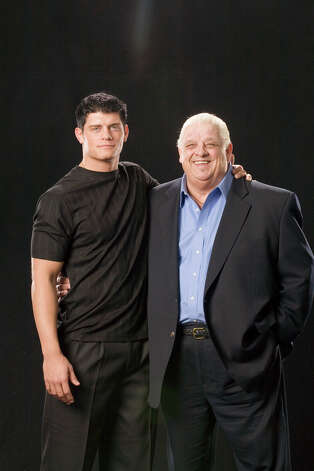 Cody Rhodes, 26, is one of the brightest young superstars in the World Wrestling Federation. His father Dusty Rhodes also was a wrestler. Photo: -- / © 2007 World Wrestling Entertainment, Inc. All Rights Reserved.
