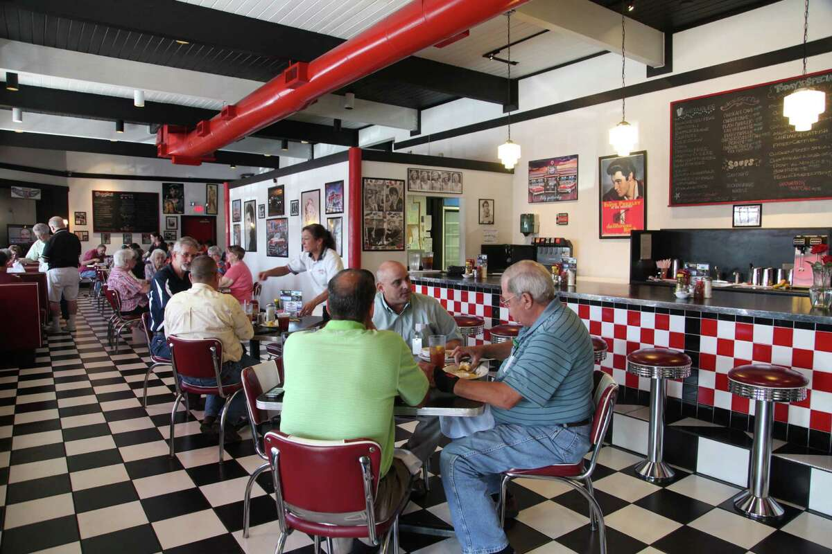 The retro décor enhances the Checkers Diner experience but the real draw is the homemade food.