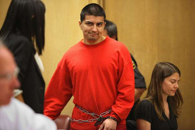 Edwin Ramos, the man who shot and killed a father and his two sons in a mistaken gang shooting in 2008 was sentenced today in San Francisco, California, on Monday, June 11, 2012. Photo: Liz Hafalia, The Chronicle