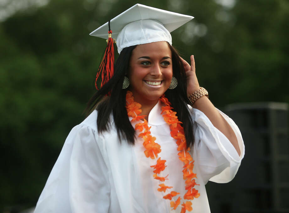 Shelton High School graduation exercises in Shelton on Monday, June 11, 2012. Photo: Brian A. Pounds / Connecticut Post