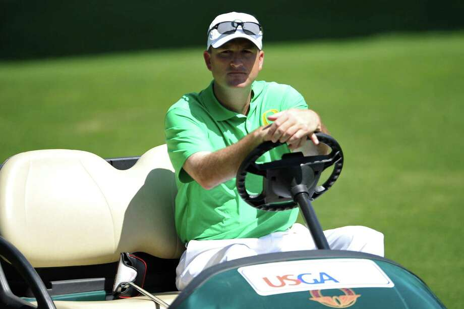 Casey Martin is back at Olympic, where he won the right to use a golf cart 14 years ago. Photo: Stuart Franklin / 2012 Getty Images