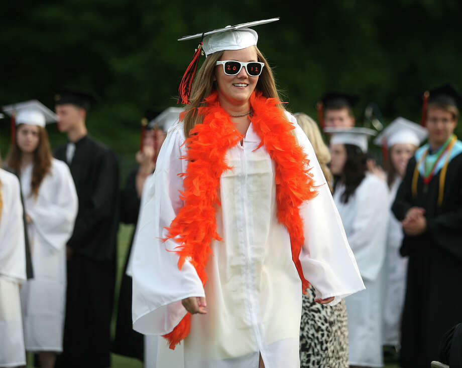 Mikhalia Haluschak. Shelton High School graduation exercises in Shelton on Monday, June 11, 2012. Photo: Brian A. Pounds / Connecticut Post