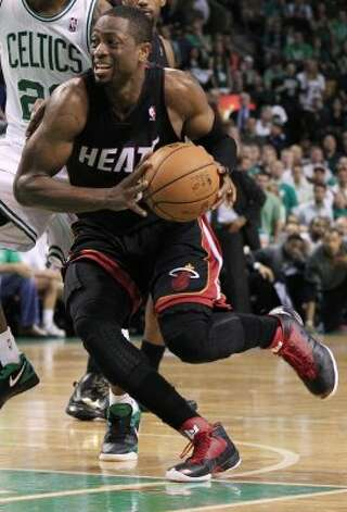 Heat shooting guard: (3) Dwyane Wade 6-4, 9th yr