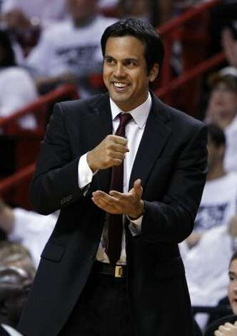 Heat coach: Erik Spoelstra, 4th season