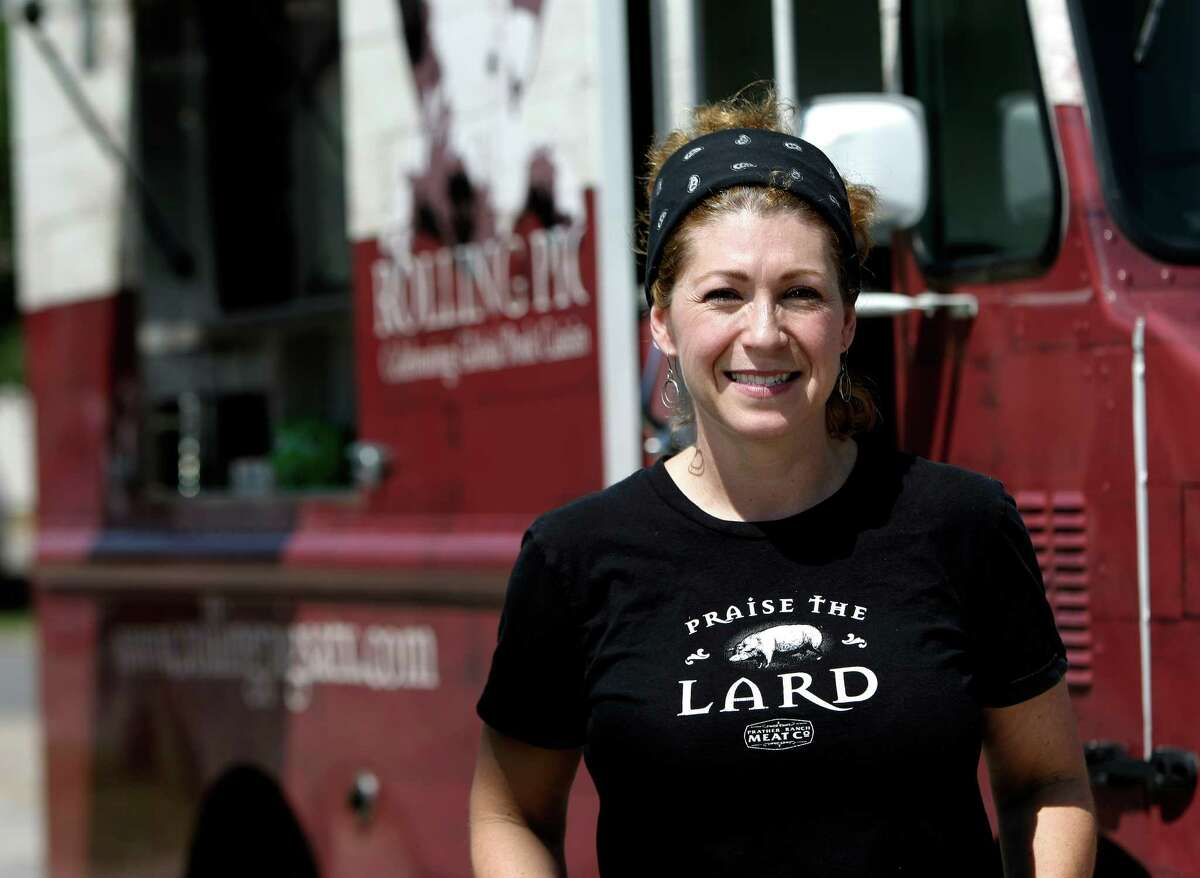 Shere Henrici is owner of The Rolling Pig, voted best food truck/ mobile dining by readers and critics.