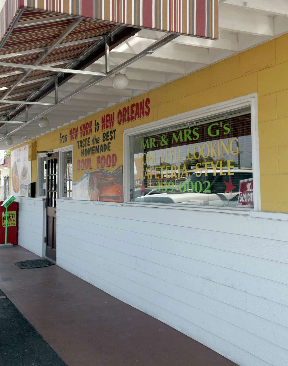 Mr. and Mrs. G's Home Cooking was voted the Readers' Choice for best East Side restaurant.