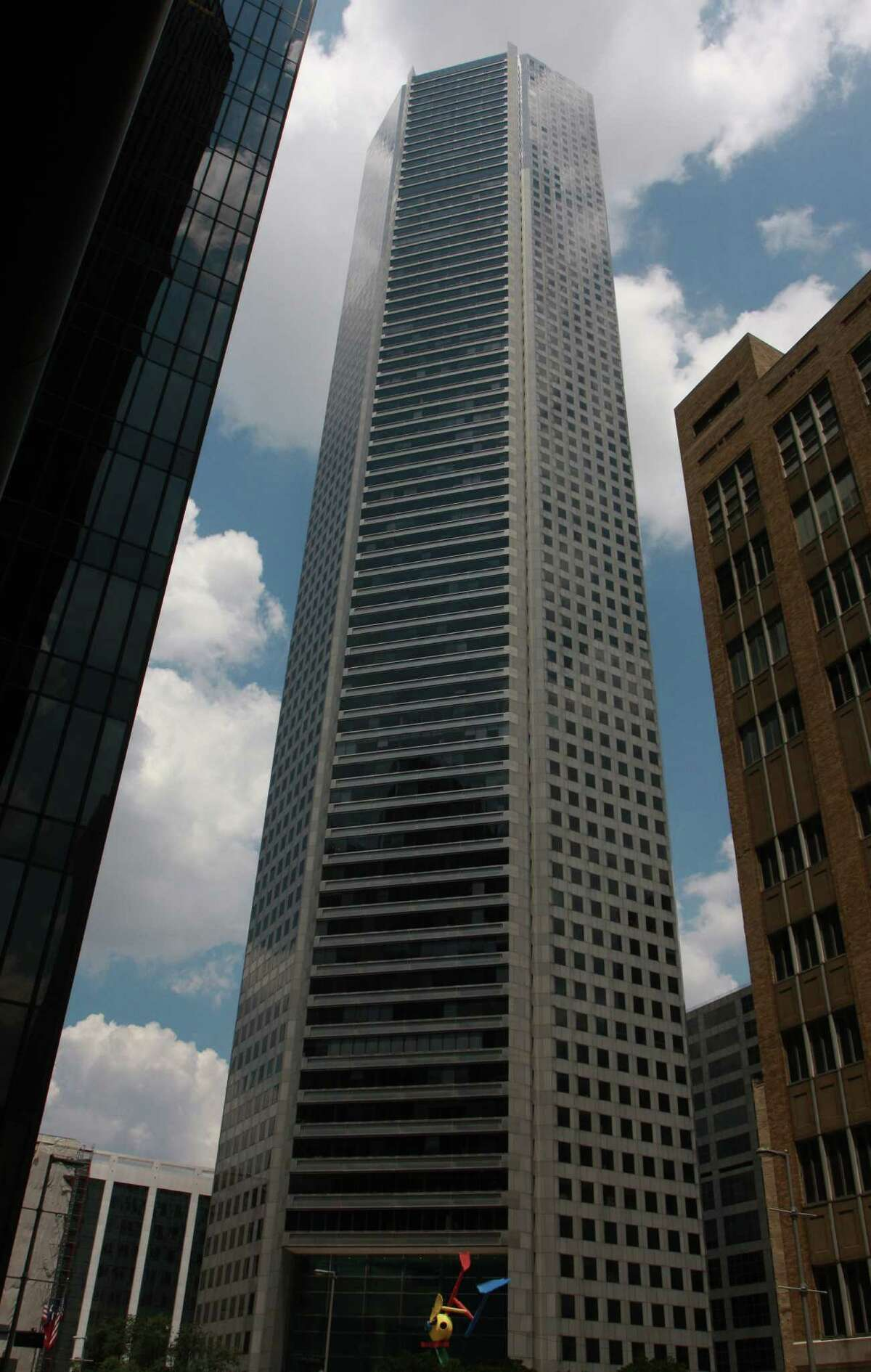 At 1,002 feet, Houston's JP Morgan Chase Tower is the tallest skyscraper in Texas.