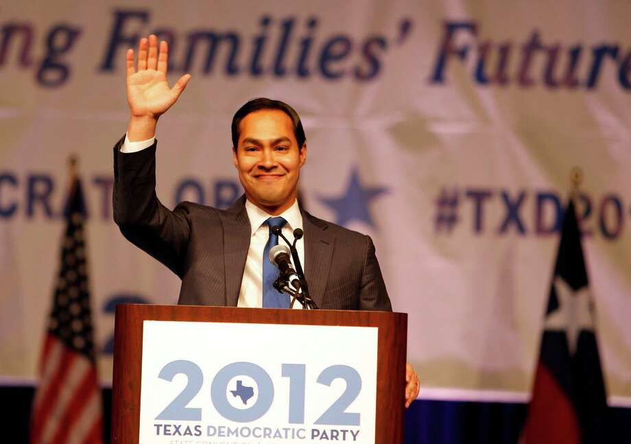 """During the recent Texas Democratic Party Convention, Mayor Julián Castro criticized Republicans for failing to """"control"""" their base — a comment derided by one of our readers, who says leaders should lead, not control. Photo: James Nielsen, Houston Chronicle / © Houston Chronicle 2012"""