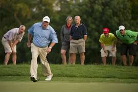 Dennis Miller qualified for the U.S. Open in dramatic fashion at Scioto Country Club in Columbus, Ohio.