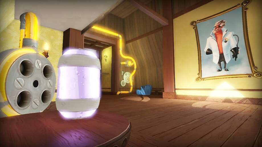 """""""Quantum Conundrum"""" is a quirky puzzle game set in the mansion of a mad-scientist uncle. Photo: Square Enix"""