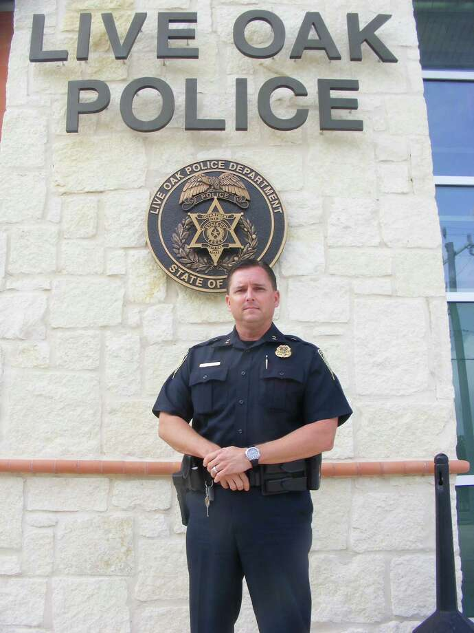 Live Oak Police Chief Ken Evans has been on the job since June 4. Photo: Jeff B. Flinn / NE Herald