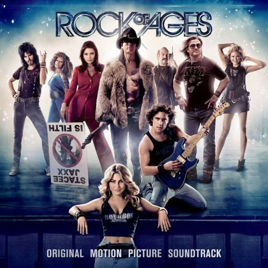 "CD cover of the soundtrack album ""Rock of Ages."" Photo: Courtesy Photo"