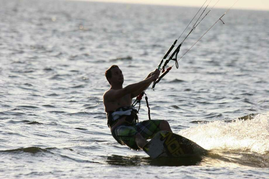 Scott Fitzpatrick will be Kiteboarding 4 Cancer in Oregon July 13-15. June 15, 2012. New Canaan, Conn. Photo: Contributed