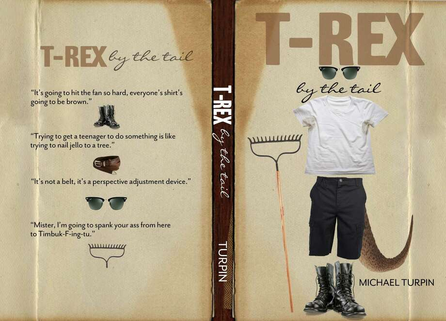 "Mike Turpin's new book ""T-Rex by the Tail"" is available on Amazon. June 15, 2012. New Canaan, Conn. Photo: Contributed"