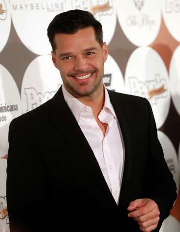 "Puerto Rican singer Ricky Martin arrives for People en Espanol's ""50 Most Beautiful"" gala, Tuesday, May 15, 2012 in New York. Photo: AP"