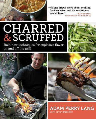 "Cover: ""Charred & Scruffed"" by Adam Perry Lang (Artisan Books) Photo: Simon Wheeler"