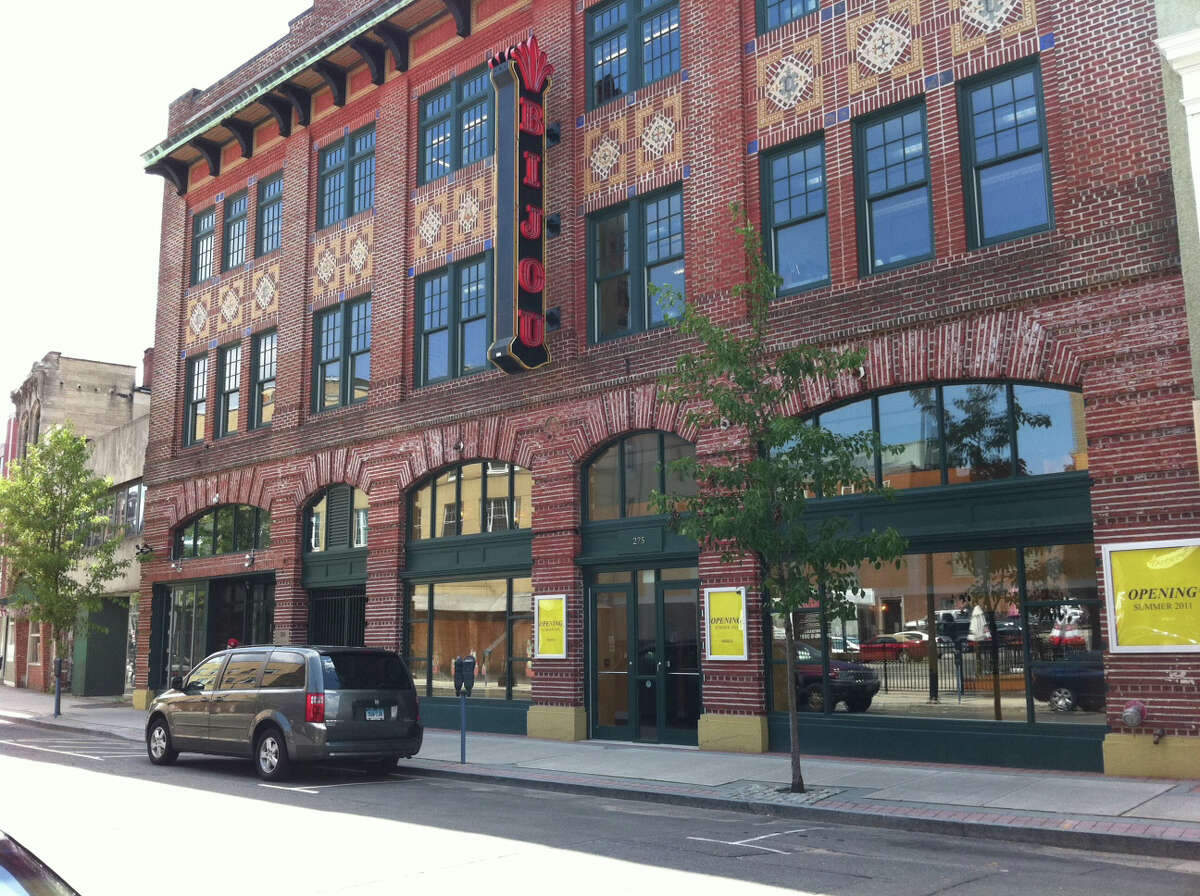 FILE: The newly restored Bijou Theater in downtown Bridgeport is having a