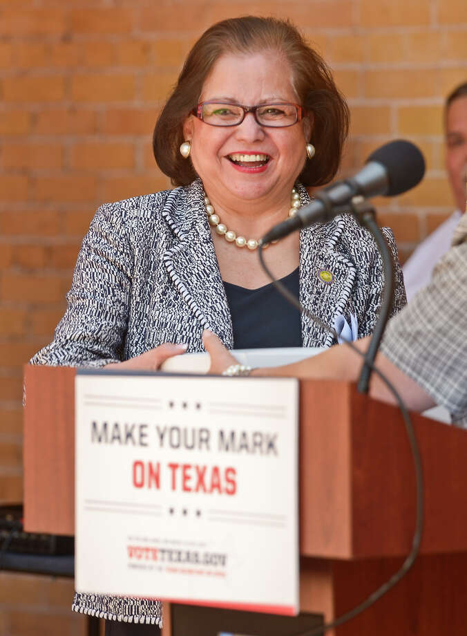 Texas Secretary of State Hope Andrade is a former member of the Texas Transportation Commission who was appointed to her current post in 2008. Photo: Laredo Morning Times File Photo / LAREDO MORNING TIMES