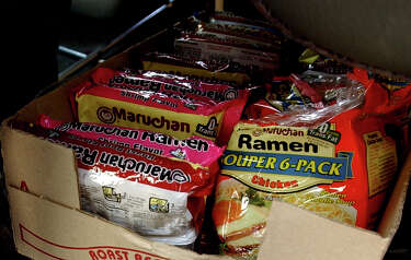 Ramen tops commissary purchases in Bexar County Jail - San