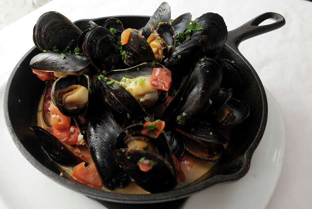 Mussels made with Belgian ale at Boulevard 18 in New Canaan on Tuesday, May 22, 2012. Photo: Lindsay Niegelberg / Stamford Advocate
